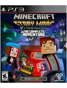 Brand New Sealed! Minecraft Story Mode The Complete Adventure Sony Play Station 3 by Sony