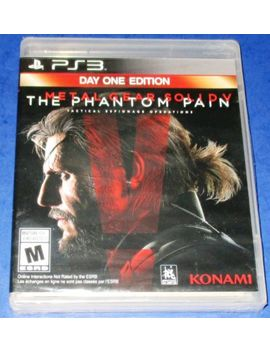 Metal Gear Solid V: The Phantom Pain    Day One Edition Ps3 *New Free Shipping! by Ebay Seller