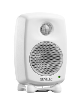 "8010 A 3"" 2 Way 50 W Active Studio Monitor (Single, White) by Genelec"