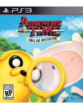 New Adventure Time: Finn And Jake Investigations (Sony Play Station 3, 2015) by Ebay Seller
