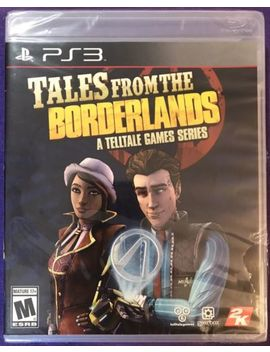Tales From The Borderlands A Telltale Games Series Sony Play Station 3 Ps3 New by Ebay Seller