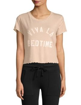 Sydney Viva La Bedtime Cotton Tee by Wildfox