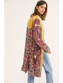 Maggie Patched Duster by Free People