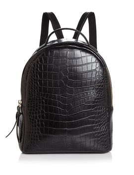 Mini Croc Embossed Backpack   100 Percents Exclusive by Aqua
