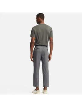 Men Ezy Ankle Pants (Houndtooth) by Uniqlo