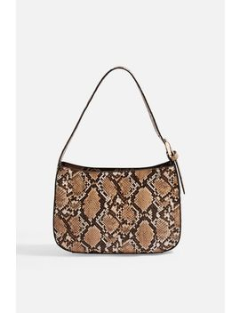 Snake Mini Shoulder Bag by Topshop