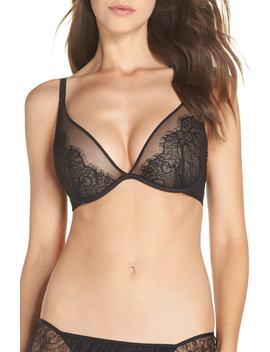 Lace Plunge Underwire Bra by Passionata By Chantelle