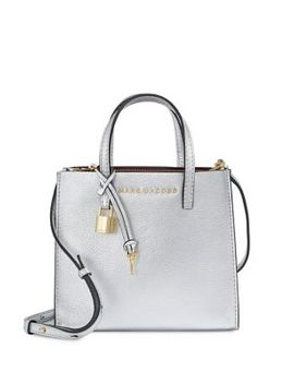Grind Leather Mini Crossbody Bag by Marc Jacobs