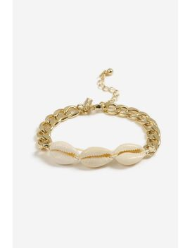 **Shell Chain Bracelet by Topshop