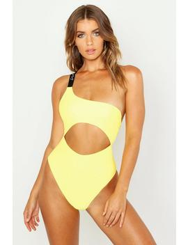 Woman Cut Out Swimsuit by Boohoo