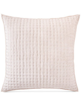 Velvet Quilted European Sham, Created For Macy's by Hotel Collection