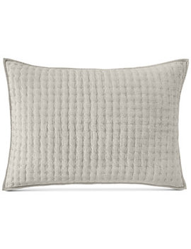 Velvet Quilted King Sham by Hotel Collection
