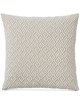 "Embroidered 20"" Square Decorative Pillow, Created For Macy's by Hotel Collection"
