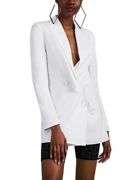Embellished Double Breasted Blazer by Area