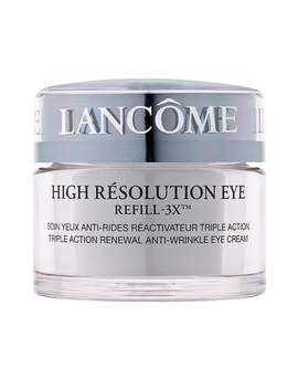 High Résolution Refill 3 X Anti Wrinkle Eye Cream by LancÔme