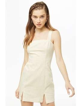 Striped M Slit Mini Dress by Forever 21