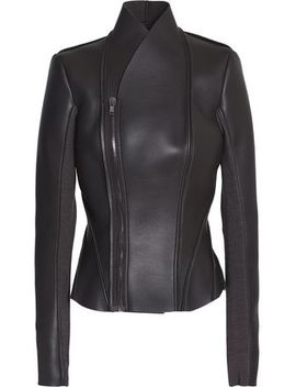Leather Jacket by Rick Owens Lilies