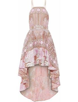 Embellished Metallic Embroidered Tulle Dress by Marchesa Notte