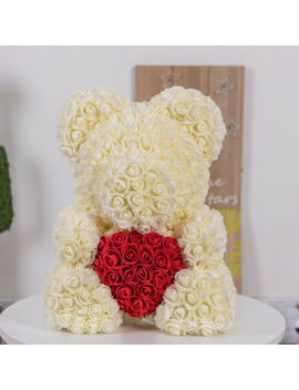 2019 Rose Bear Teddy Bear Large Huge Luxury 40 Cm Pe Rose Mother's Day Gift by Ebay Seller