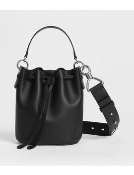 Captain Leather Small Bucket Bag by Allsaints