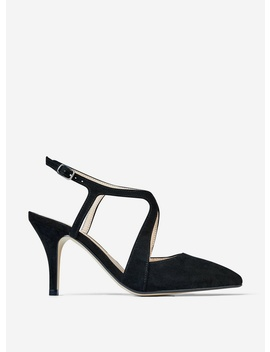 Black 'Enigma' Cross Court Shoes by Dorothy Perkins