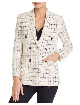 Plaid Tweed Blazer by Rebecca Taylor