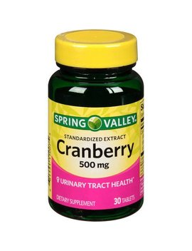 Spring Valley Standardized Extract Cranberry, 500 Mg, 30 Tablets by Spring Valley