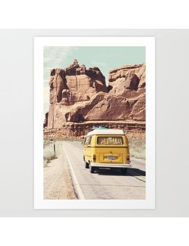 Going On A Road Trip Art Print by