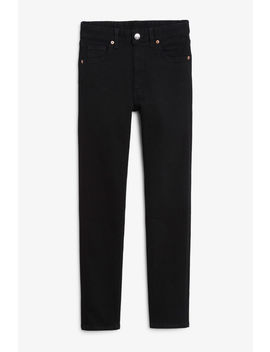 Moop Black Jeans by Monki