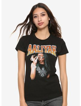 Aaliyah Pop Sunglasses Girls T Shirt by Hot Topic
