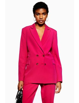 Pink Suit by Topshop