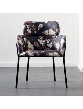 Azalea Floral Dining Chair by Crate&Barrel
