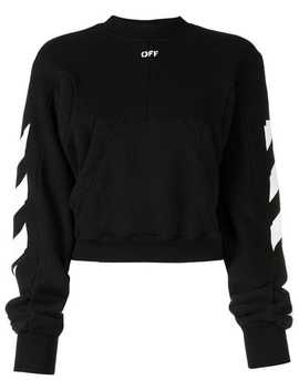 Diagonal Print Sweatshirt by Off White