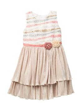 Isla Shimmer Dress (Little Girls) by Dorissa