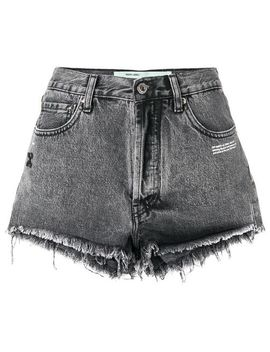 Ripped Denim Shorts by Off White
