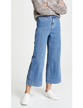Emmett Wide Leg Crop Jeans by Madewell