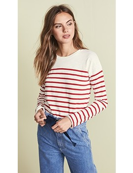 Halsey Striped Ls Tee by Rag & Bone/Jean