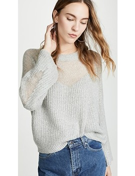 Heavenly Sheer Sweater by Line & Dot