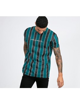 Crossford Striped T Shirt   Teal by Kings Will Dream