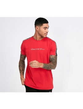 Floxberry Tape T Shirt   Red by Kings Will Dream