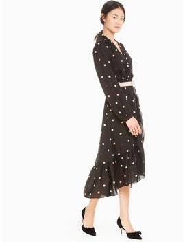 Bakery Dot Wrap Dress by Kate Spade
