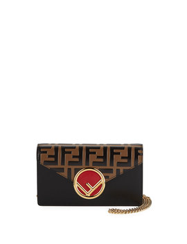 Touch Of Ff Leather Belt Bag by Fendi