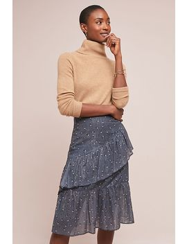 Riley Ruffled Skirt by Dolan Left Coast