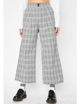Havoc Halls Plaid Pants by Sans Souci Clothing