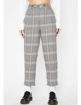 Dope Bidness Plaid Pants by Sans Souci Clothing