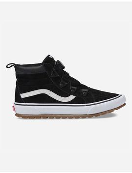 Vans Sk8 Hi Mte Boa Black & True White Shoes by Vans