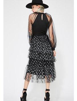 Polka Thot Tulle Skirt by Salt