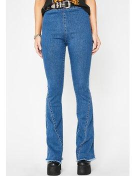 Rockin' Roadie Boot Cut Jeans by Blue Blush