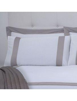 J By Jasper Conran   Cream 'savoy' Pillow Case Pair by J By Jasper Conran