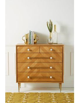 Nelson Five Drawer Dresser by Anthropologie